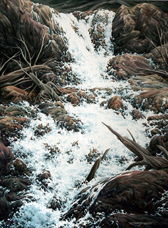 Tangle Falls   by Rene Thibault